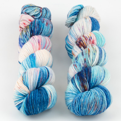Monthly Exclusive Colorway//Life is a Circus - Smooshy with Cashmere