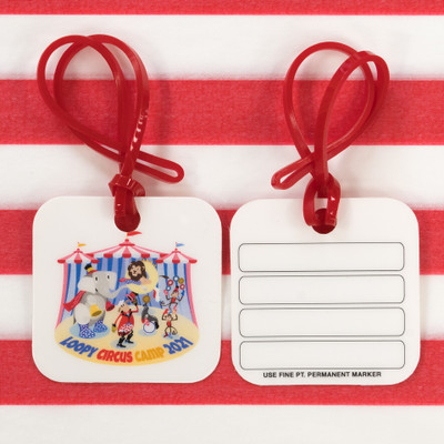 Circus Camp Bag Tags