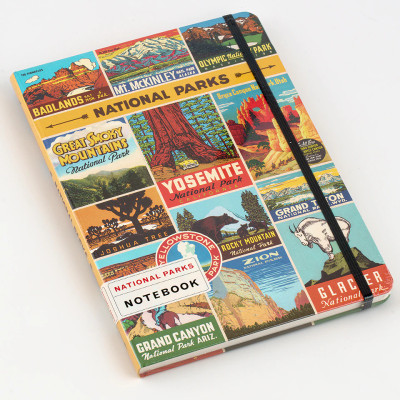 Cavallini Large Notebook in National Parks