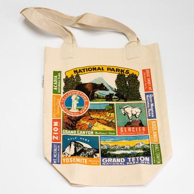 Cavallini Tote Bag in National Parks