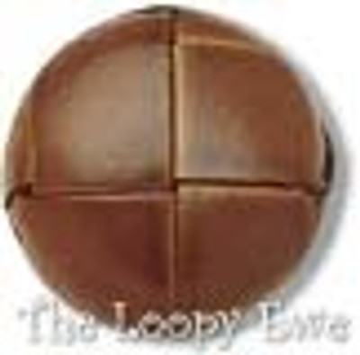 """Leather - 3/4"""" Button (60325)"""