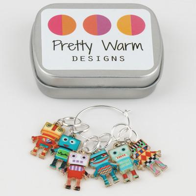 Pretty Warm Designs Stitch Markers