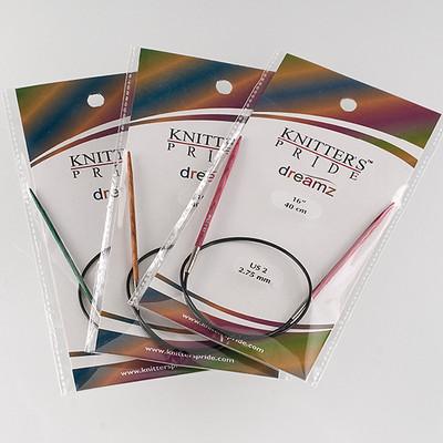 "Knitter's Pride Dreamz Circulars 16"" Needles"