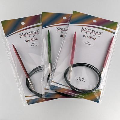 "Knitter's Pride Dreamz Circulars 40"" Needles"