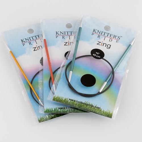 "Knitter's Pride, Zing Circulars 16"" at  The Loopy Ewe"