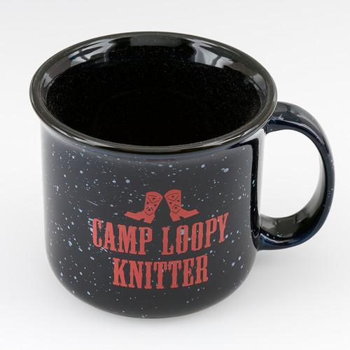 Camp Loopy Mug at  The Loopy Ewe