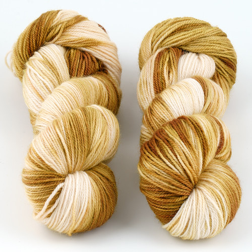 Essence of Autumn, Pasture Sock // Flaxen at  The Loopy Ewe