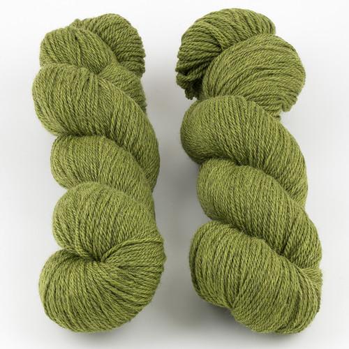 Walcot Yarns, Opus // Greenery at  The Loopy Ewe