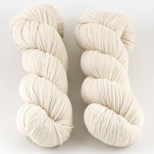 Walcot Yarns, Opus // Splashed White at  The Loopy Ewe