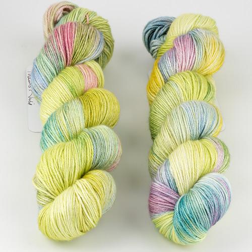 JulieSpins, Silky 435 // Rebirth at  The Loopy Ewe