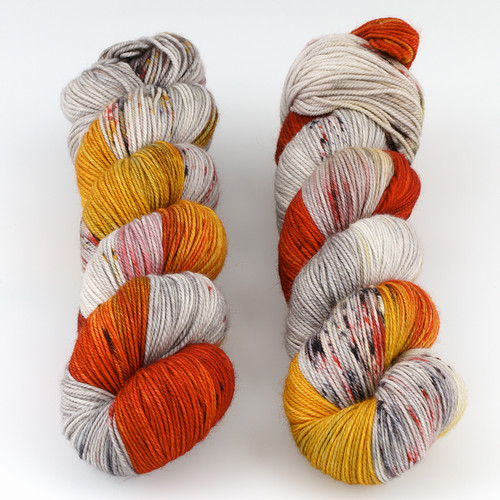 Dream in Color, Smooshy with Cashmere // Cloud To Ground at  The Loopy Ewe