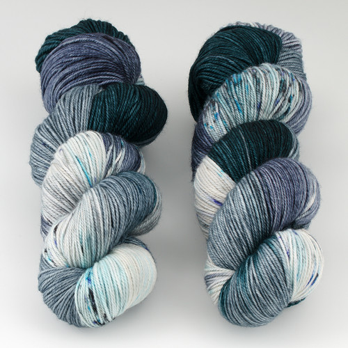 Dream in Color, Smooshy with Cashmere // Caldera at  The Loopy Ewe