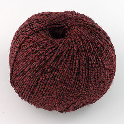 Cascade, 220 Superwash // 1923 Red Wine Heather at  The Loopy Ewe