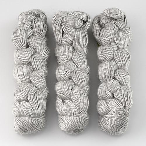 Blue Sky Fibers, Metalico // (1611) Silver at  The Loopy Ewe