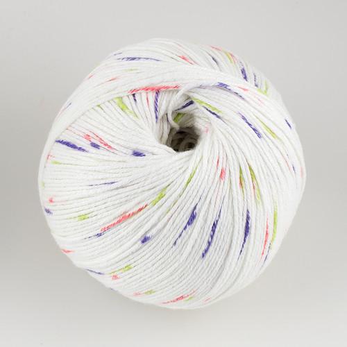 Universal Yarn, Bamboo Pop // Pastel Dots (302) at  The Loopy Ewe
