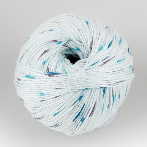Universal Yarn, Bamboo Pop // Ocean Dots (305) at  The Loopy Ewe