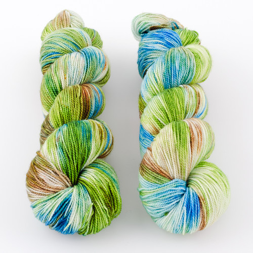 Western Sky Knits, Aspen Sock with Nylon // High Ride at  The Loopy Ewe