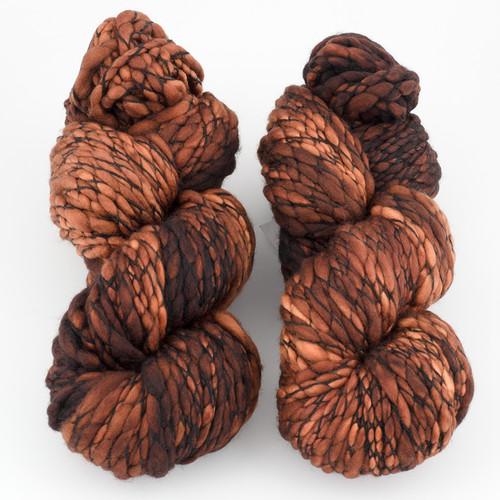 Malabrigo, Caracol // 161 Rich Chocolate B at  The Loopy Ewe