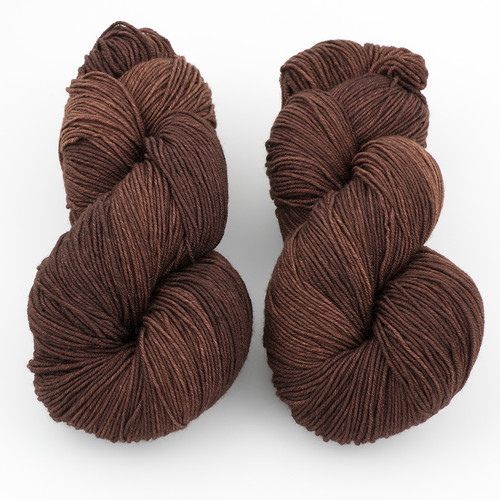 Ancient Arts Fibre Crafts, Heavy Fingering Yarn // Chocolate Lab at  The Loopy Ewe
