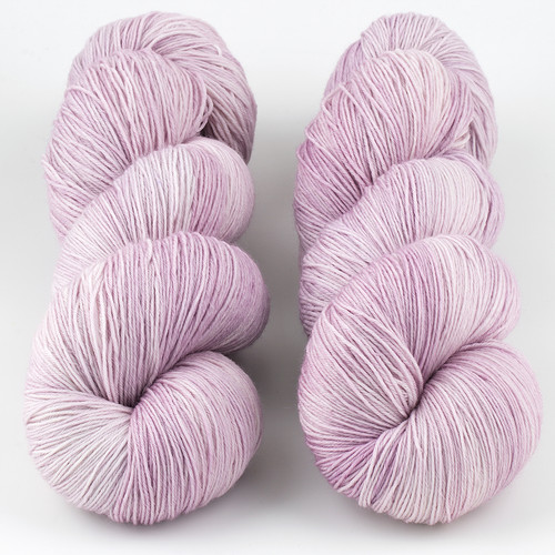 JulieSpins, Euro Fingering 820 // Plum Blossom at  The Loopy Ewe