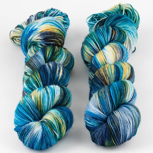Brediculous Yarns, Addy Socks // Interstellar at  The Loopy Ewe
