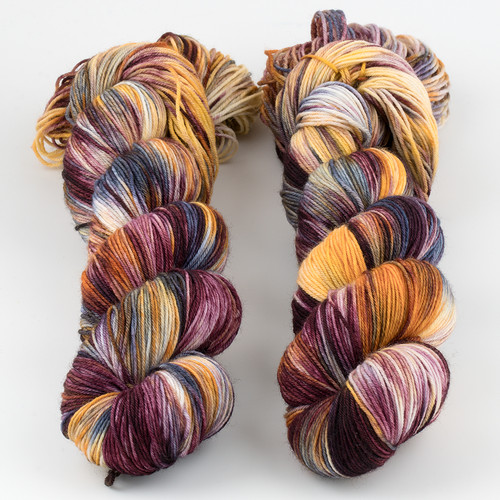 Brediculous Yarns, Addy Socks // Plentiful Bounty at  The Loopy Ewe