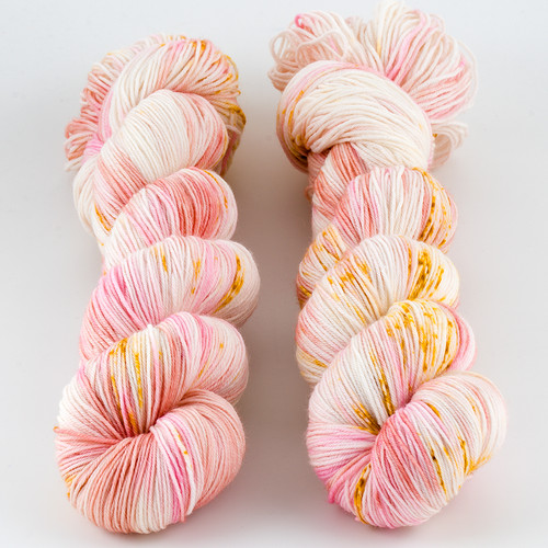 Brediculous Yarns, Addy Socks // Summer Shandy at  The Loopy Ewe