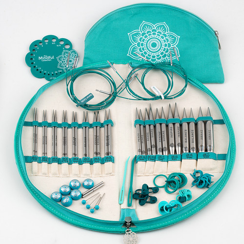 The Mindful Collection Interchangeable GRATITUDE set at  The Loopy Ewe
