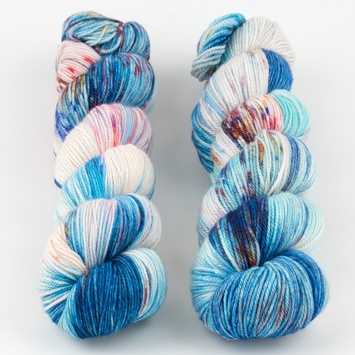 Monthly Exclusive Colorway//Life is a Circus - Smooshy with Cashmere at  The Loopy Ewe