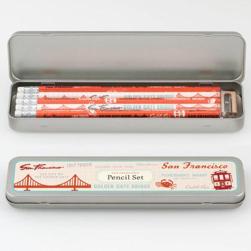 Cavallini Pencil Set at  The Loopy Ewe