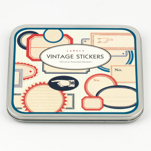 Cavallini Vintage Stickers at  The Loopy Ewe