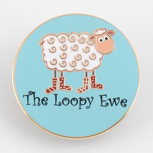 Loopy Enamel Pin