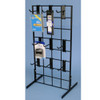 """Counter Top Gridwall Display Unit w/ 9 - 4"""" D Hooks"""