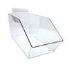 Slatwall Clear Acrylic Bin Multisize Bundle Pack