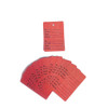 "Two-Part Coupon Tags - 1.25"" W x 1.875"" H"