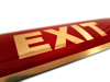 "2"" X 9"" EXIT Door Sticker"