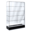 Frameless Economy Glass Wall Case - NY PICK UP ONLY