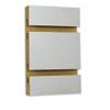 Slatwall Panel - 4' x 8' - Brushed Aluminum