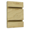Slatwall Panel - 4' x 8' - Maple Veneer