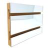 Slatwall Panel - 4' x 8' - Mirror Finish