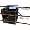 Adhesive Pegboard & Slatwall Mounting Adapter