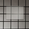 "Slatwall Acrylic Sign Holder, Horizontal or Vertical, 5.5"" x 7"""