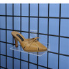 "Clear Acrylic Gridwall Shoe Shelf, 4"" D x 10"" L"