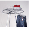 Wire Basket Topper for Round Clothing Rack