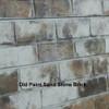 3D Slatwall Panel 2' x 8' - Old Brick