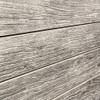3D Slatwall Panel 2' x 8' - Weathered Wood