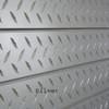 3D Slatwall Panel 2' x 8' - Diamond Plate