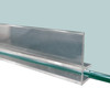 "Glass Shelf Lip, 72"" L"