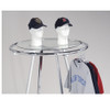 Round Glass Clothing Rack Topper