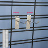 Slat Grid Panels Accepts both Slat and Grid Hooks and Accessories